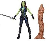 Guardians of the Galaxy Marvel Legends Gamora Action Figure