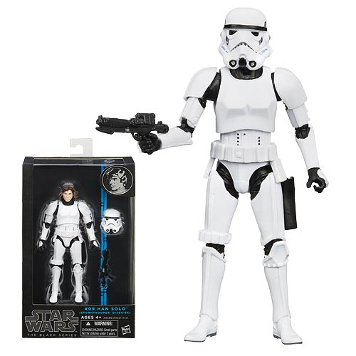 Star Wars Black Series Han Solo in Stormtrooper Disguise 6-Inch Figure