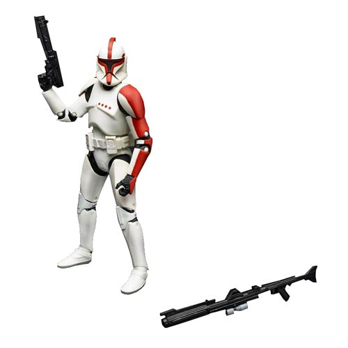 Star Wars The Black Series Clone Trooper Captain 6-Inch Action Figure