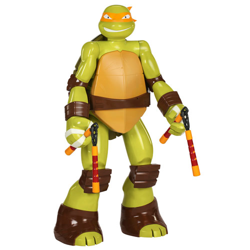 Teenage Mutant Ninja Turtles Michelangelo 48-Inch Action Figure