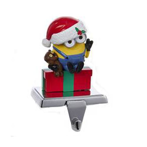 Despicable Me Minions Bob with Bear Stocking Holder