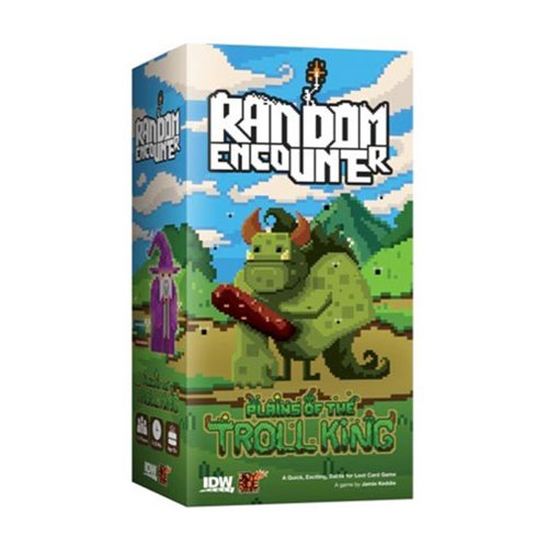 Random Encounter: Plains of the Troll King Game