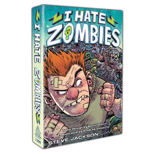 I Hate Zombies Card Game