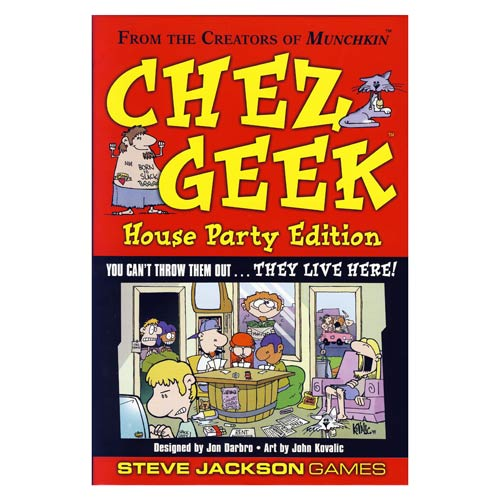 Chez Geek House Party Edition Game