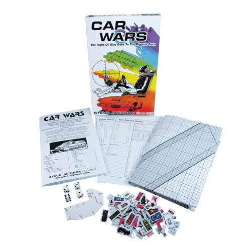 Car Wars Classic Card Game