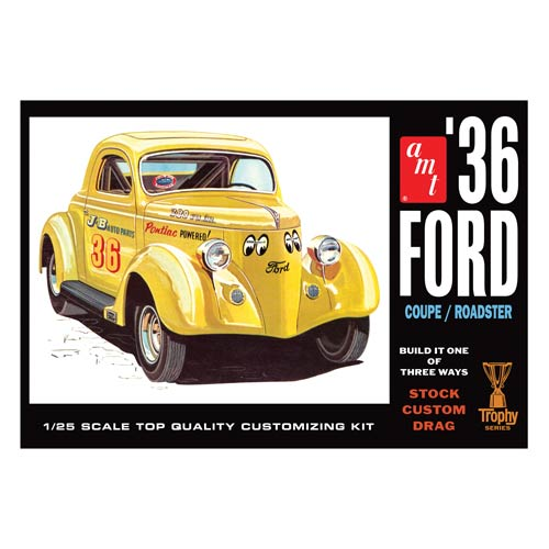 Ford Coupe Roadster 1936 1:25 Scale Model Kit