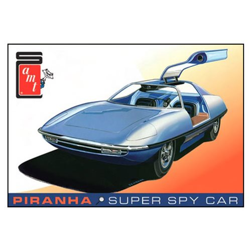 Piranha Spy Car Original Art Series Model Kit