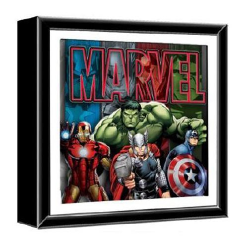 Marvel Avengers Wood Shadow Box