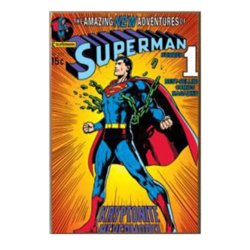 Superman Breaking Chains 3D Wood Wall Art