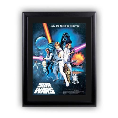 Star Wars: Episode IV - A New Hope Framed Art