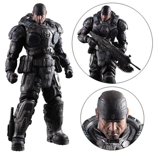 Gears of War Marcus Fenix Play Arts Kai Action Figure