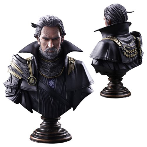 Kingsglaive Final Fantasy XV Regis Lucis Caelum Static Arts Mini-Bust