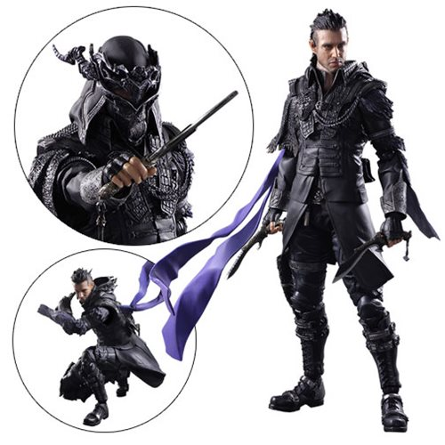 Kingsglaive: Final Fantasy XV Nyx Ulrich Play Arts Kai Action Figure