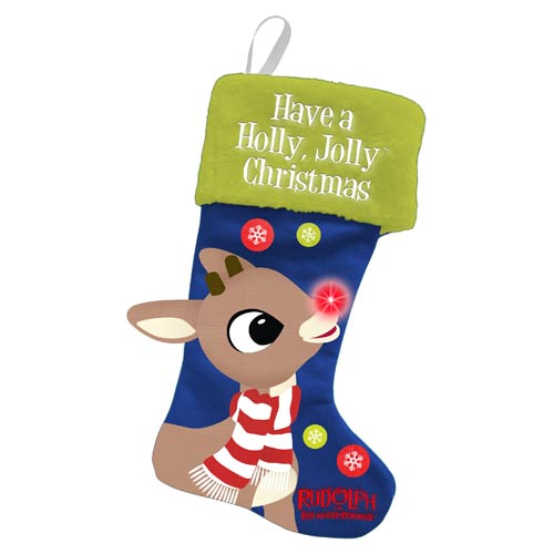 Rudolph the Red-Nosed Reindeer Large Light-Up Stocking