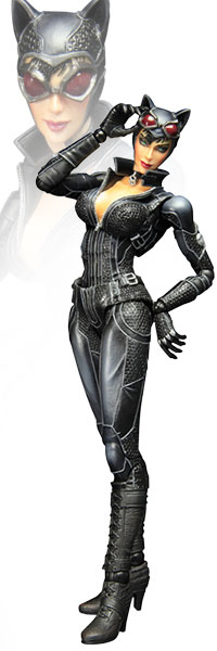 Catwoman Arkham City Play Arts Kai Figure