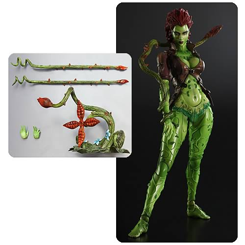 Batman Arkham City Poison Ivy Play Arts Kai Action Figure