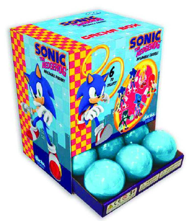 Sonic The Hedgehog Buildable Fig Capsule